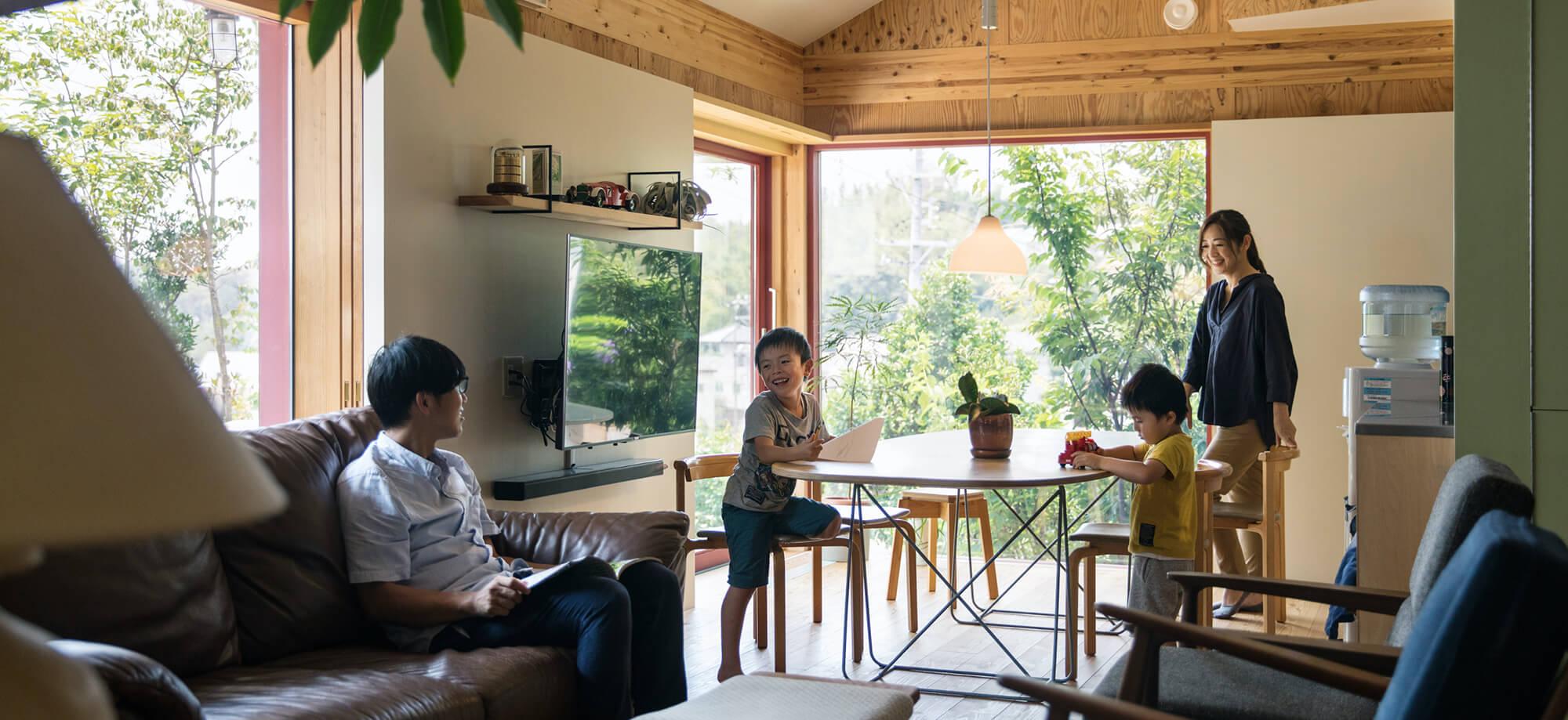 浜松市の工務店なら【入政建築】|注文住宅を自然素材で建てる
